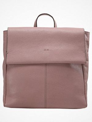 Topshop CLEAN Ryggsäck blush omönstrad