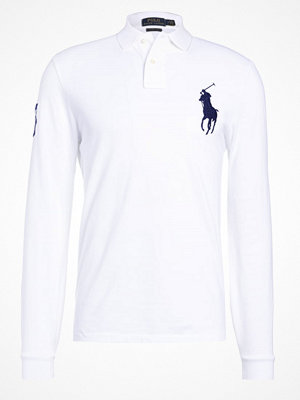 Polo Ralph Lauren BASIC CUSTOM SLIM FIT Piké white