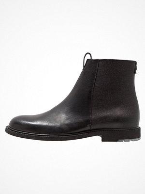Boots & kängor - BOSS Orange CULTROOT ZIP Stövletter black
