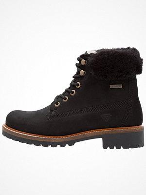 Boots & kängor - Tamaris Snörstövletter schwarz
