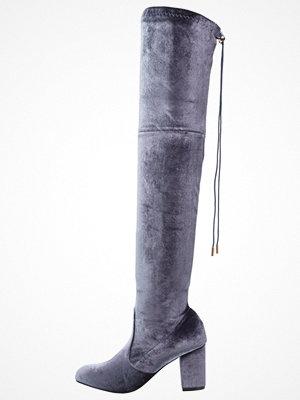Glamorous Overkneeskor grey