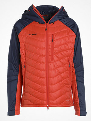 Regnkläder - Mammut RIME PRO IN HOODED Outdoorjacka spicy/marine