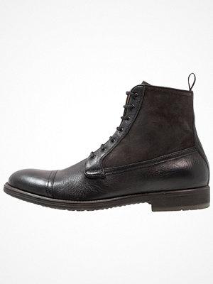 Boots & kängor - Geox JAYLON Snörstövletter black