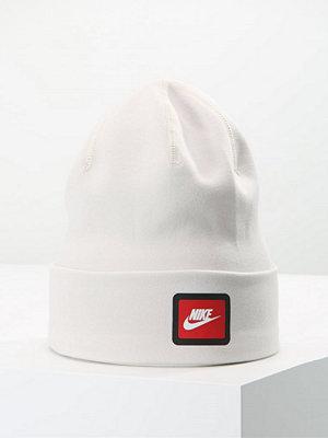 Mössor - Nike Sportswear TECH Mössa light bone/black/university red