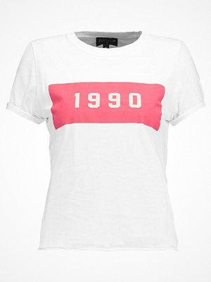 T-shirts - Topshop 1990 Tshirt med tryck white