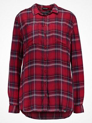 Superdry SUPERSIZED Skjorta red/blue/white