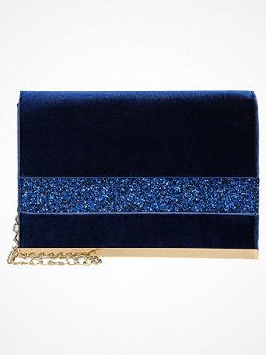 Dorothy Perkins GLITTER PANEL  Kuvertväska blue marinblå