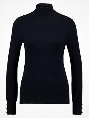 Dorothy Perkins BUTTON CUFF ROLL NECK Stickad tröja navy blue