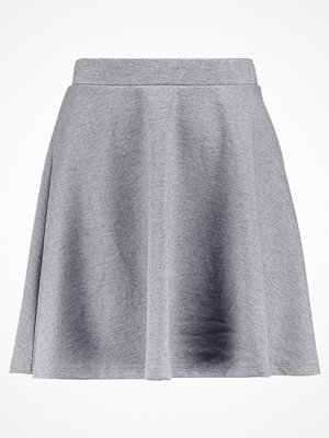 Kjolar - Vero Moda VMKALLY  Alinjekjol light grey melange