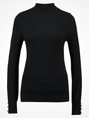 Dorothy Perkins BUTTON CUFF ROLL NECK Stickad tröja black