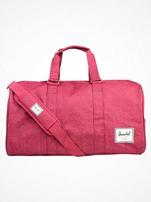 Herschel NOVEL Weekendbag winetasting crosshatch rosa