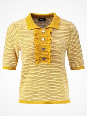Kookai Stickad tröja yellow