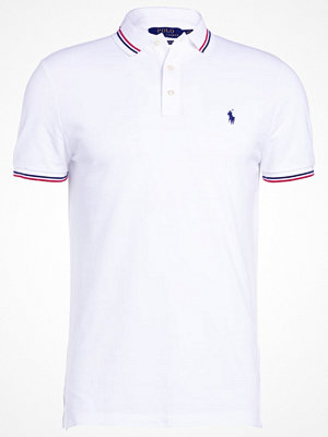 Polo Ralph Lauren FEATHER CUSTOM SLIM FIT Piké white
