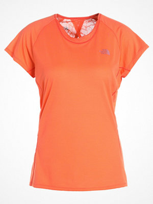 The North Face BETTER THAN NAKED Tshirt med tryck nasturtium orange