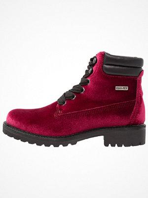 Boots & kängor - Tamaris Snörstövletter bordeaux