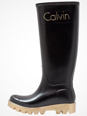 Gummistövlar - Calvin Klein Jeans ELIZA Gummistövlar black/gold