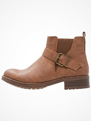 Boots & kängor - Anna Field Ankelboots cognac