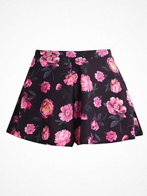 Shorts & kortbyxor - Missguided FLORAL FLOATY Shorts black