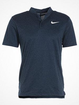 Nike Golf BLADE Tshirt med tryck armory navy/white