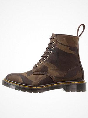 Boots & kängor - Dr. Martens PASCAL  Snörstövletter olive/tan