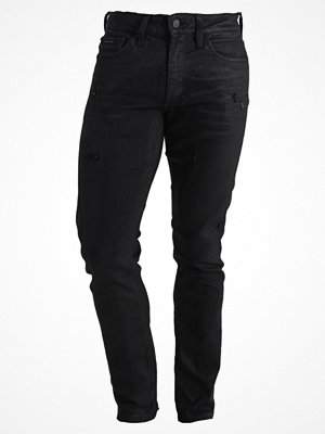 Jeans - Calvin Klein Jeans SLIM STRAIGHT DART  Jeans slim fit magnetic blac