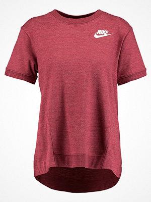 T-shirts - Nike Sportswear GYM  Tshirt med tryck port heather/sail