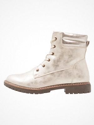 Boots & kängor - Anna Field Snörstövletter gold