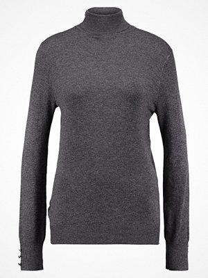 Dorothy Perkins BUTTON CUFF ROLL NECK Stickad tröja grey