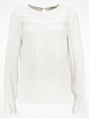 Blusar - Only ONLHANNA BOX  Blus offwhite