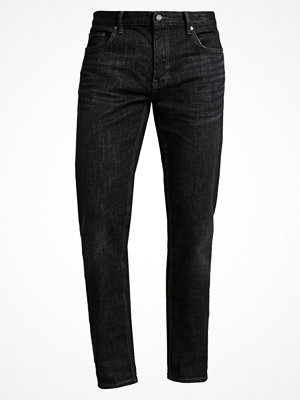 Jeans - Banana Republic STRAIGHT BLACK WASH DENIM Jeans straight leg black
