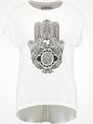 T-shirts - Even&Odd Tshirt med tryck white
