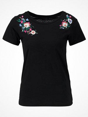 T-shirts - Even&Odd Tshirt med tryck black