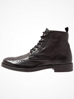 Boots & kängor - Geox UOMO BLADE Snörstövletter black