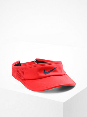 Kepsar - Nike Performance AEROBILL FEATHERLIGHT VISOR ADJUSTABLE Keps rot