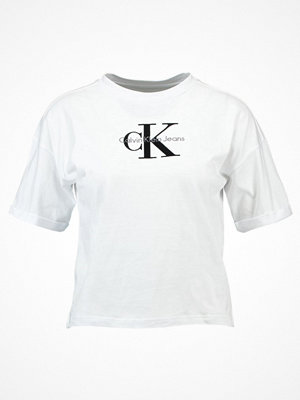 Calvin Klein Jeans TECO TRUE ICON Tshirt med tryck bright white