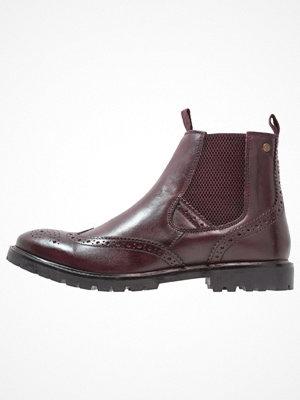Boots & kängor - Base London BOSWORTH Stövletter bordo