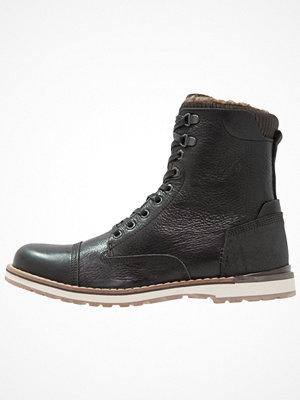 Boots & kängor - Zign Snörstövletter black