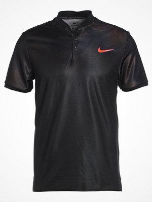 Pikétröjor - Nike Performance DRY Funktionströja black/black/pure platinum