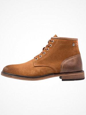 Boots & kängor - Sneaky Steve TOMBSTONE Snörstövletter cognac