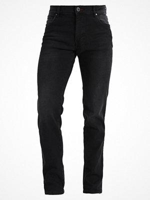 Jeans - Bugatti FLEXCITY  Jeans straight leg black