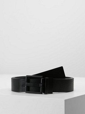 Calvin Klein MONOCHROME BUCKLE Skärp black