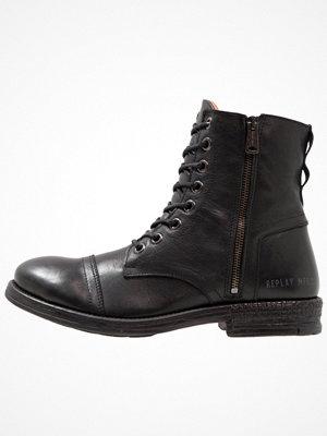 Boots & kängor - Replay PHIM Snörstövletter black