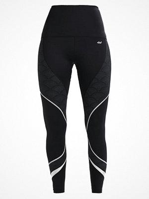 Sportkläder - Röhnisch CURVED Tights black hazy arc