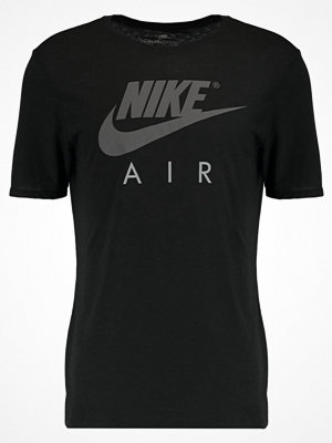 T-shirts - Nike Sportswear AIR Tshirt med tryck black/anthracite
