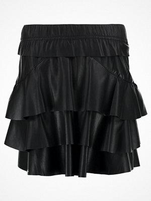 Kjolar - Vero Moda VMRINA BUTTER Minikjol black beauty