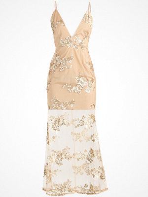 Missguided EMBROIDERED  Festklänning gold