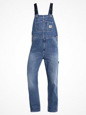 Jeans - Carhartt WIP NORCO Hängselbyxor blue true stone