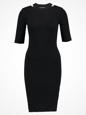 Dorothy Perkins SPLIT NECK BODYCON  Fodralklänning black