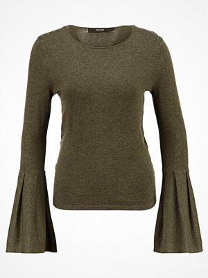 Tröjor - Vero Moda VMBIGGS GLORY BELL  Stickad tröja dark olive