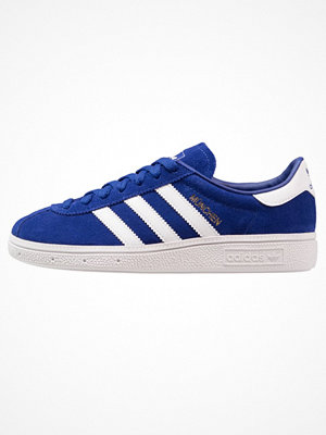 Sneakers & streetskor - Adidas Originals MUNCHEN Sneakers mystery ink /footwear white/gold metallic